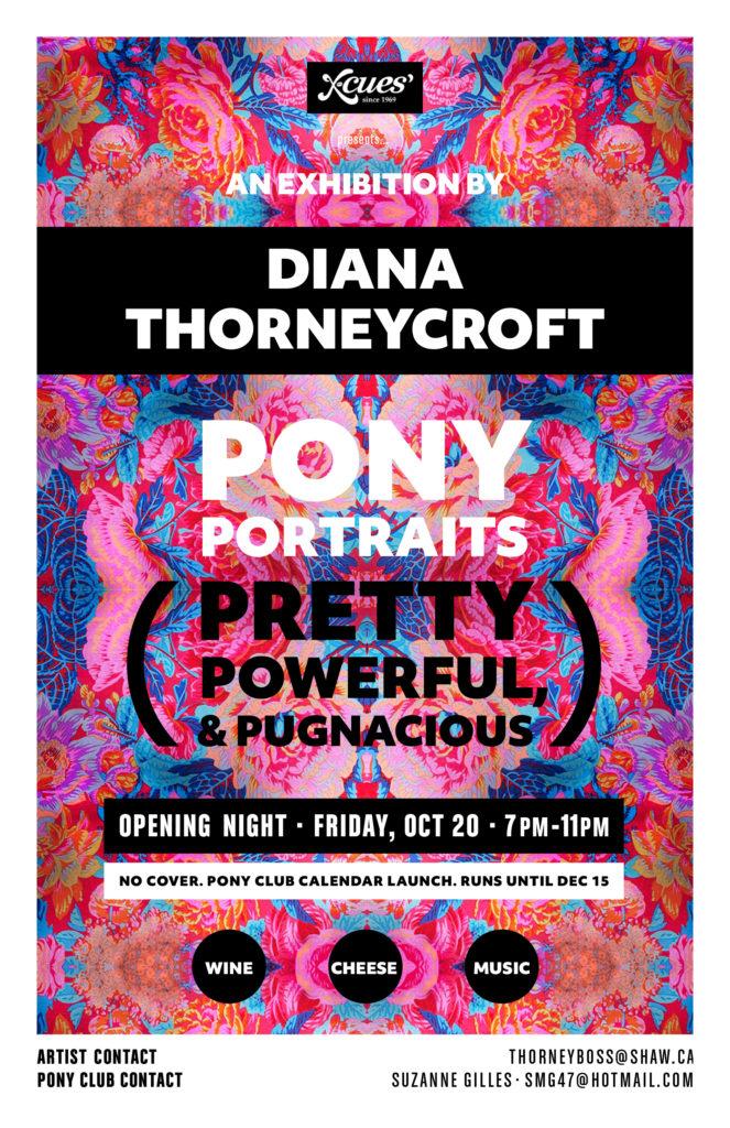 Diana Thorneycroft - Pony Portraits: Pretty Powerful Pugnacious