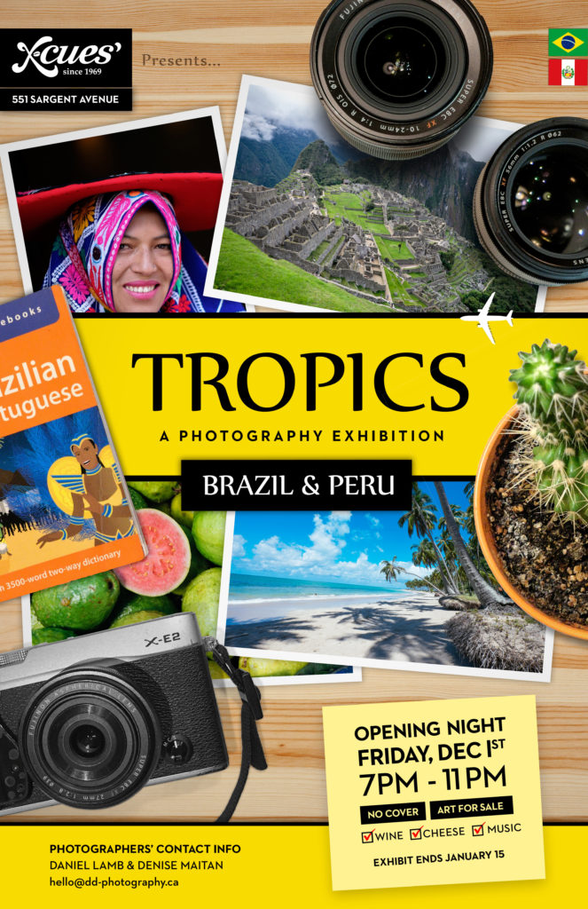 Daniel Lamb and Denise Maitan - Tropics: Brazil and Peru