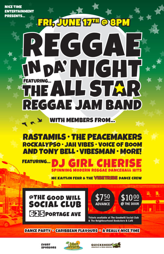 Reggae in da' Night - Featuring the All Star Reggae Jam Band
