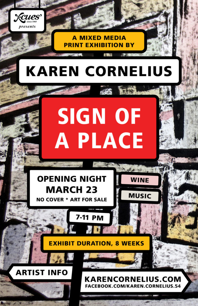 Karen Cornelius - Sign of a Place