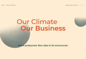 Our Climate, Our Business